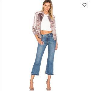 🆕 Grlfrnd cropped flare jean size 24